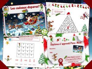Kit d'animation de chasse au trésor de Noël