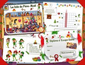 Escape game pour enfants sur Noël
