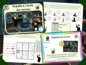 Kit de jeu anniversaire thème Harry Potter