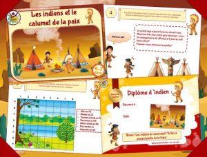 Chasse au trésor des indiens 6-7 ans