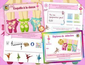 Animation de chasse au trésor sur le thème de la danse