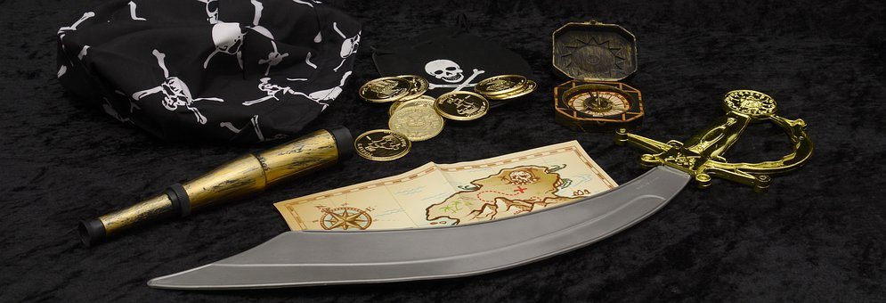 kit de chasse au trésor des pirates
