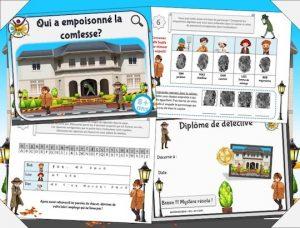 Imprimez un jeu d'enquête policière pour animer un anniversaire d'enfants