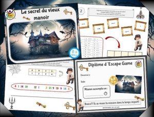 organisez un escape game pour enfants à la masion