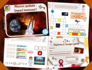 Kit complet pour activité d'escape game