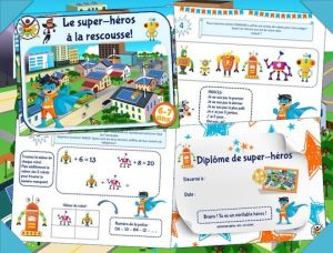 Kit jeu anniversaire à imprimer des super-héros