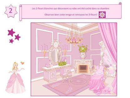Enigme pour chasse au trésor des princesses!
