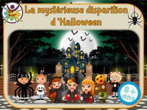 Grande chasse au trésor enfant pour Halloween