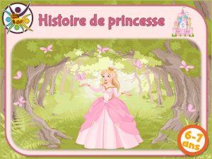 Kit de jeu de piste sur le thème des princesses
