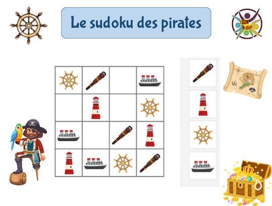 jeu gratuit de sudoku des pirates