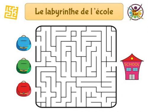 Jeu de labyrinthe gratuit à imprimer
