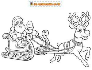 Coloriage gratuit à imprimer de Noël pour enfant