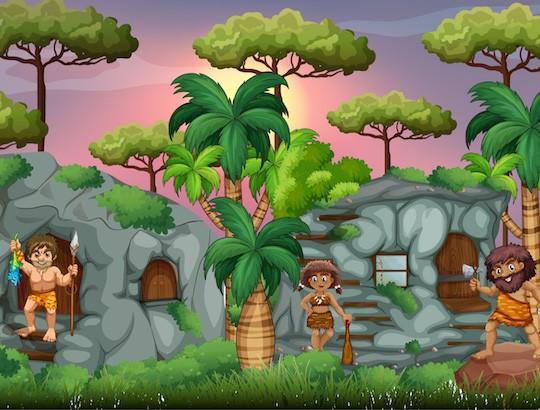 Jeu anniversaire thème préhistoire pour enfants à partir de 8 ans