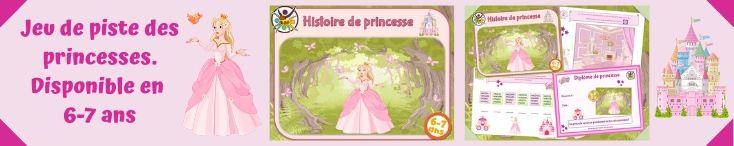 Kit de jeu anniversaire de princesse pour enfants
