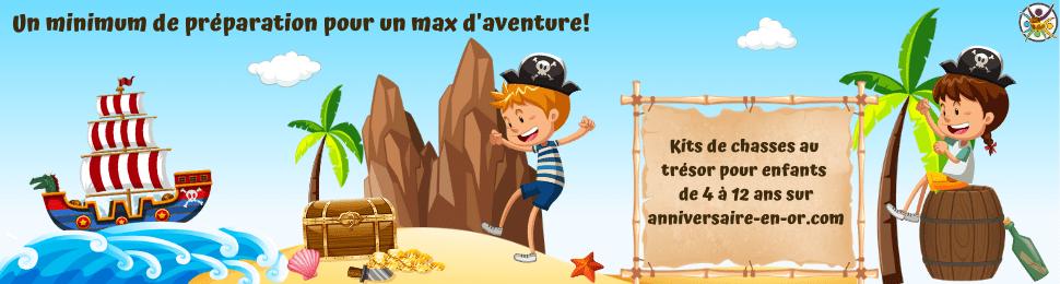 Kit d'animation de chasse au trésor pour enfants à imprimer