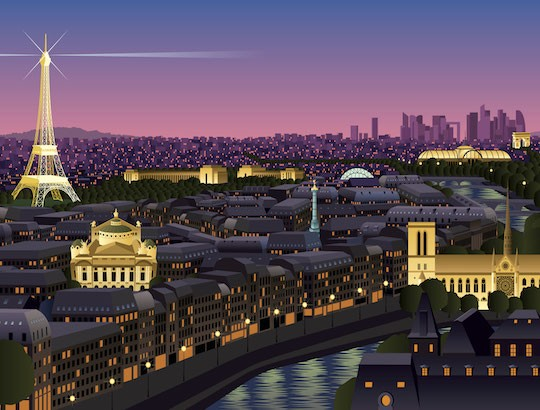 Jeu d'enquête à Paris à imprimer pour enfants à partir de 8 ans
