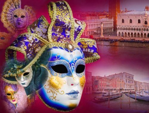 Jeu de détective à imprimer pour enfants au carnaval de Venise