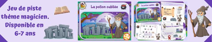Jeu de piste enfants sur le thème de la magie! 6-7 ans