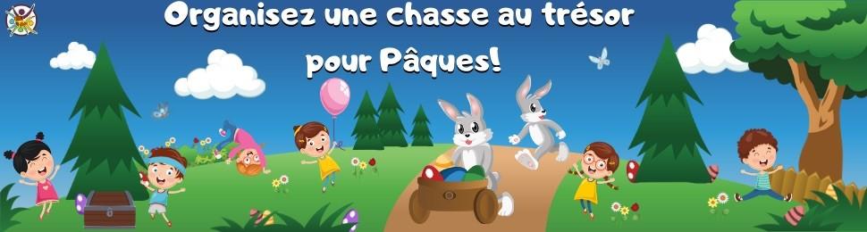 chasses au trésor à imprimer pour enfants sur Pâques!