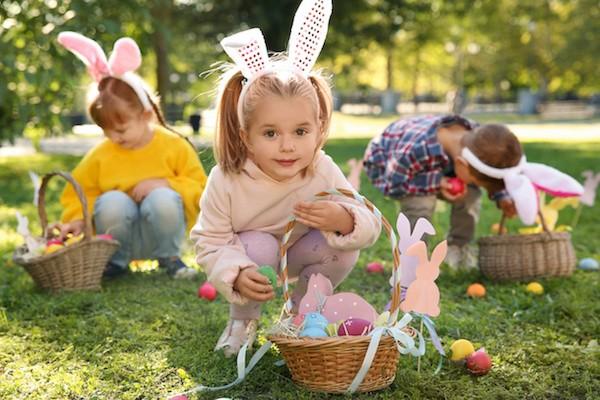organiser une chasse aux œufs de Pâques