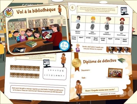 Kit complet de jeu d'enquête policière à imprimer pour enfants!