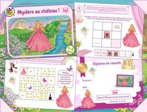 Chasse au trésor princesse à imprimer pour enfants de 4 et 5 ans