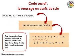 meilleurs codes secrets pour faire des messages codés