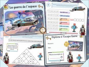 Escape game pour anniversaire Star Wars pour enfant de 10 à 12 ans