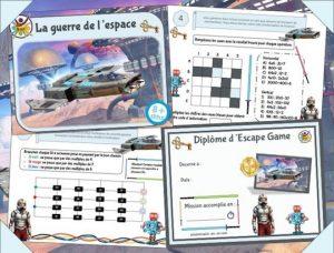 Escape game inspiré star wars à imprimer pour enfant