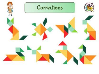 Modèles pour tangram
