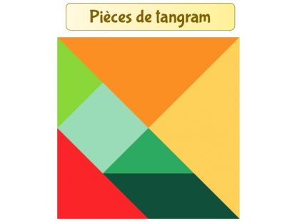 Tangram gratuit à imprimer avec modèles