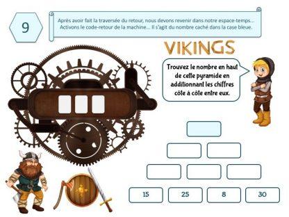 Chasse au trésor voyage au temps des Vikings