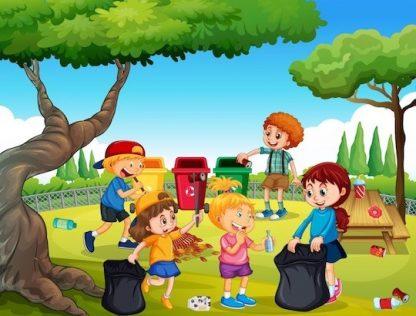 Jeu sur l'environnement, découverte de l'écologie pour les enfants