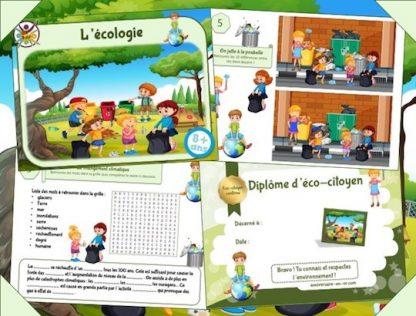 Jeux et activités enfant sur le thème de l'environnement