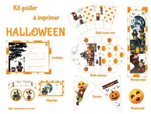 Décoration à imprimer pour Halloween