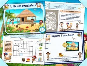 chasse au trésor des aventuriers pour enfants à partir de 8 ans