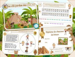 Jeu des incas pour anniversaire enfant