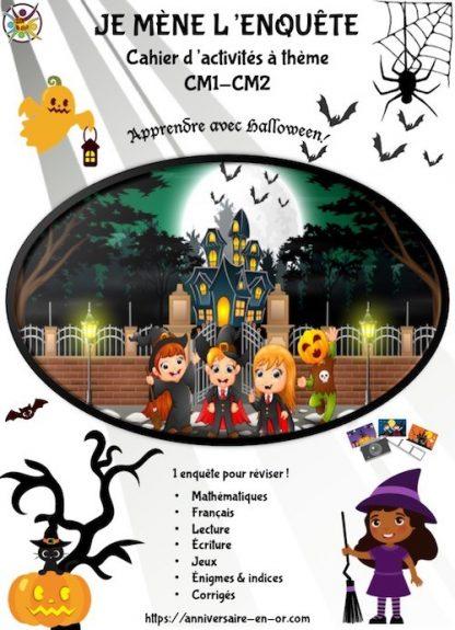 Cahier d'activités sur l'automne, thème Halloween