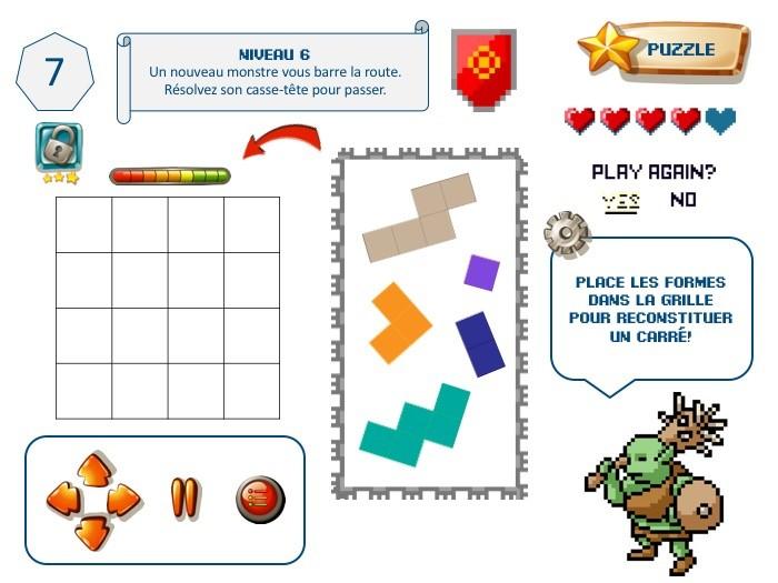 jeu pour anniversaire enfant : escape game jeu vidéo