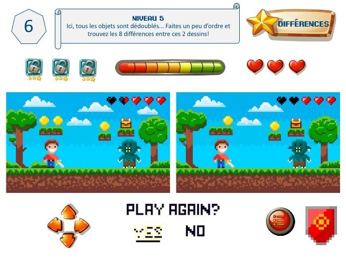 énigme pour jeu d'escape game, thème jeu vidéo