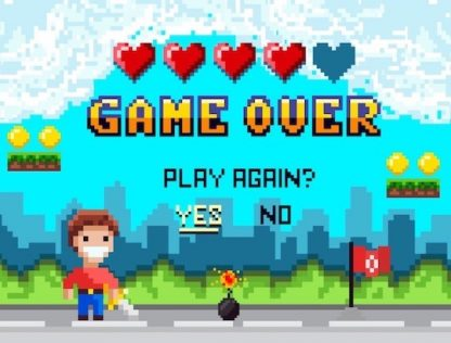 Jeu d'évasion enfant thème jeu vidéo