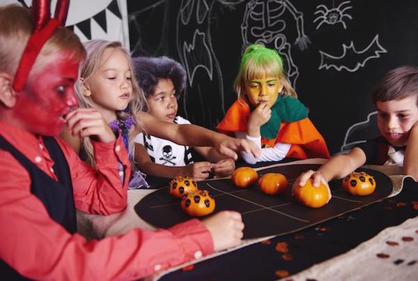 jeu du morpion pour Halloween