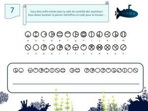 alphabet codé matoran