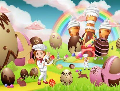Activité enfant de Pâques sous forme de chasse au trésor