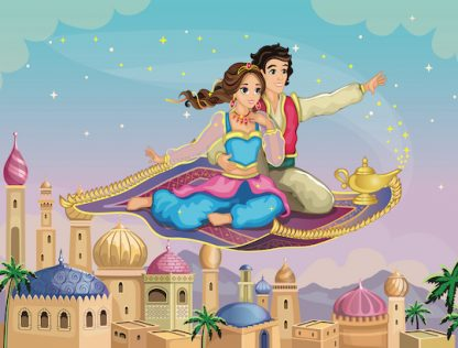 Chasse au trésor prince et princesse