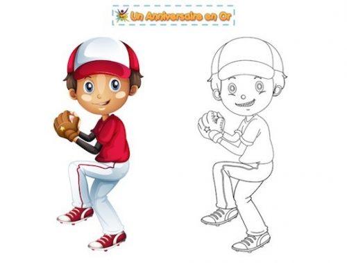Coloriage baseball