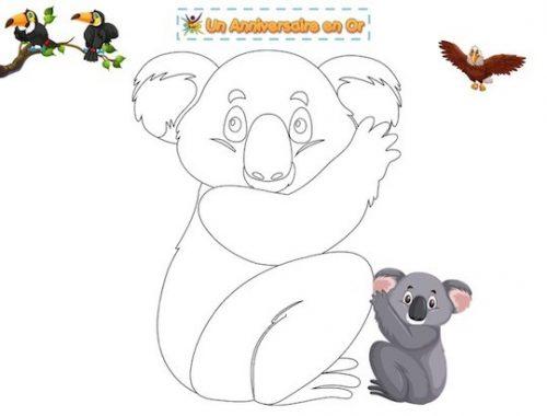 Coloriage koala