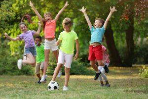 Jeux et animations sur le thème du football