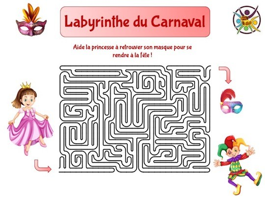 labyrinthe du carnaval