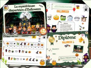 Chasse au trésor d'Halloween à imprimer
